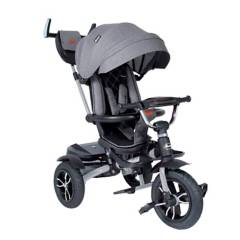 eBaby - Triciclo Paseador Cosme 338 Gris