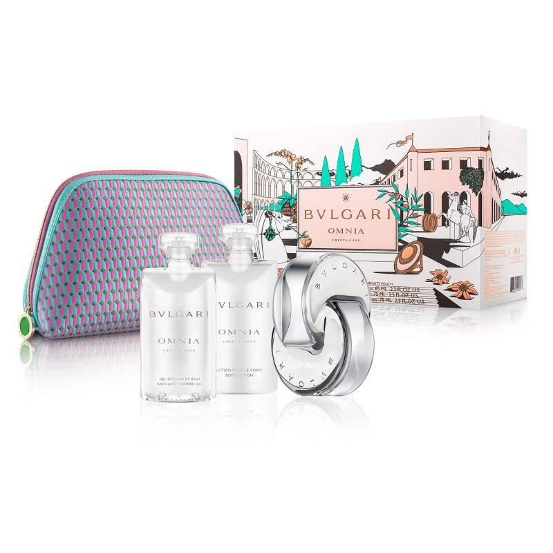 Bvlgari - Perfume Bvlgari Bvlgari Omnia Crystalline Pouch Set Spring 2021 Mujer 65 ml EDT