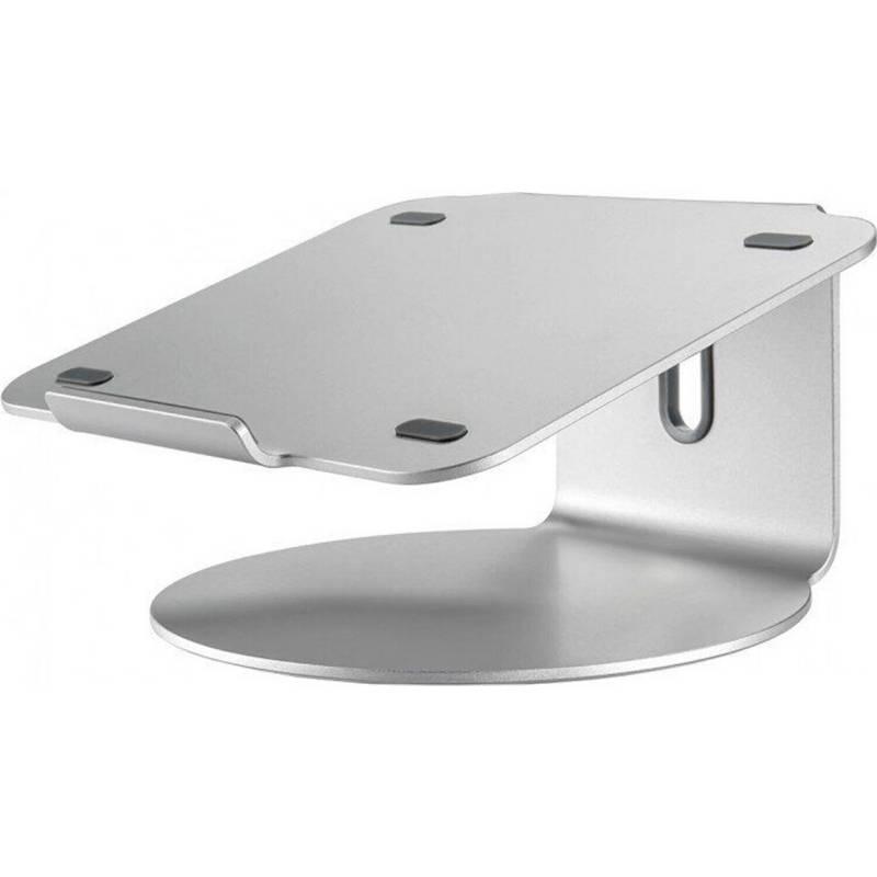 POUT - Mesa portátil aluminio 360°póut - plateado
