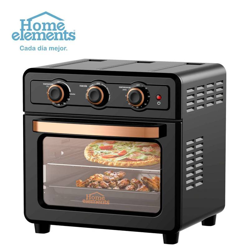 Home Elements - Multi horno air fryer 21l marca home elements