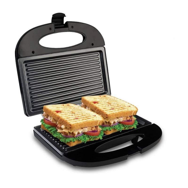 Home Elements - Sanduchera grill asador home elements 117ng panini
