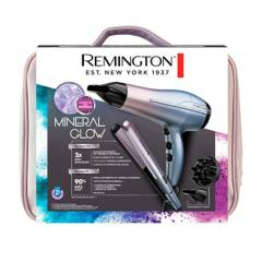 Remington - Combo Plancha + Secador Remington Mineral Glow S5408-D5408-F
