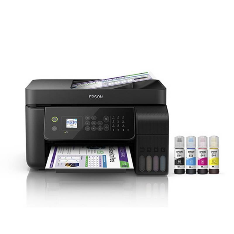 Epson - Impresora multifuncional epson ecotank l5190 wifi