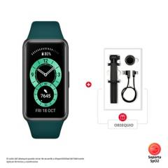 Huawei - Smartband Deportiva Huawei Band 6 + Caja Accesorios