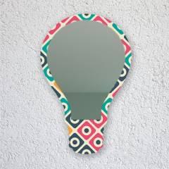 DECOMANIA - Espejo Decorativo Cómic