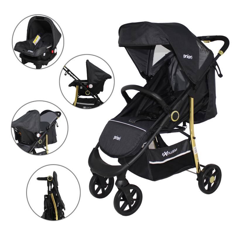 Priori - Coche Travel System Exclusive Priori Bebé