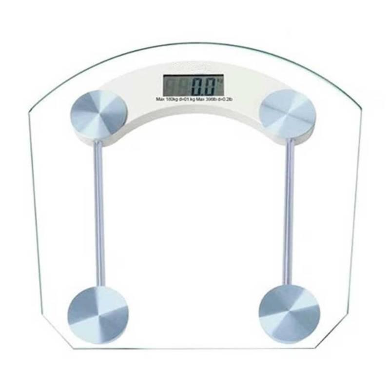 Danki - Balanza cuadrada vidrio cuadrada digital pesa