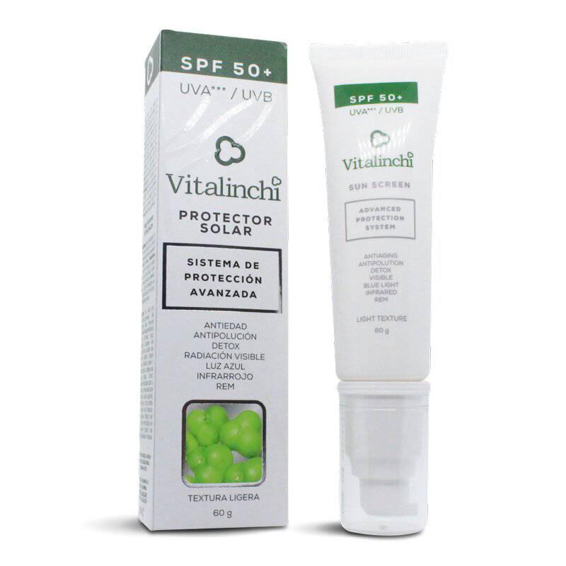 Vitalinchi - Bloqueador Solar Fps 50+ Vitalinchi 60 G