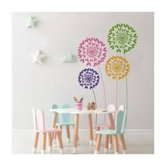 MOON LAMP - Vinilo Decorativo Infantil de Flores