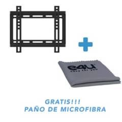 """Technosoportes - Soporte fijo tv 17a37""""gratis paño microfibra"""