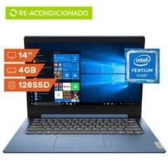Lenovo - Portátil Lenovo 14'' Intel Pentium 4GB SSD 128GB