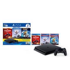 PlayStation - Consola PS4 Megapack 15 1TB