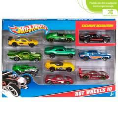Hot wheels - Vehículos Surtidos Paquete x 10