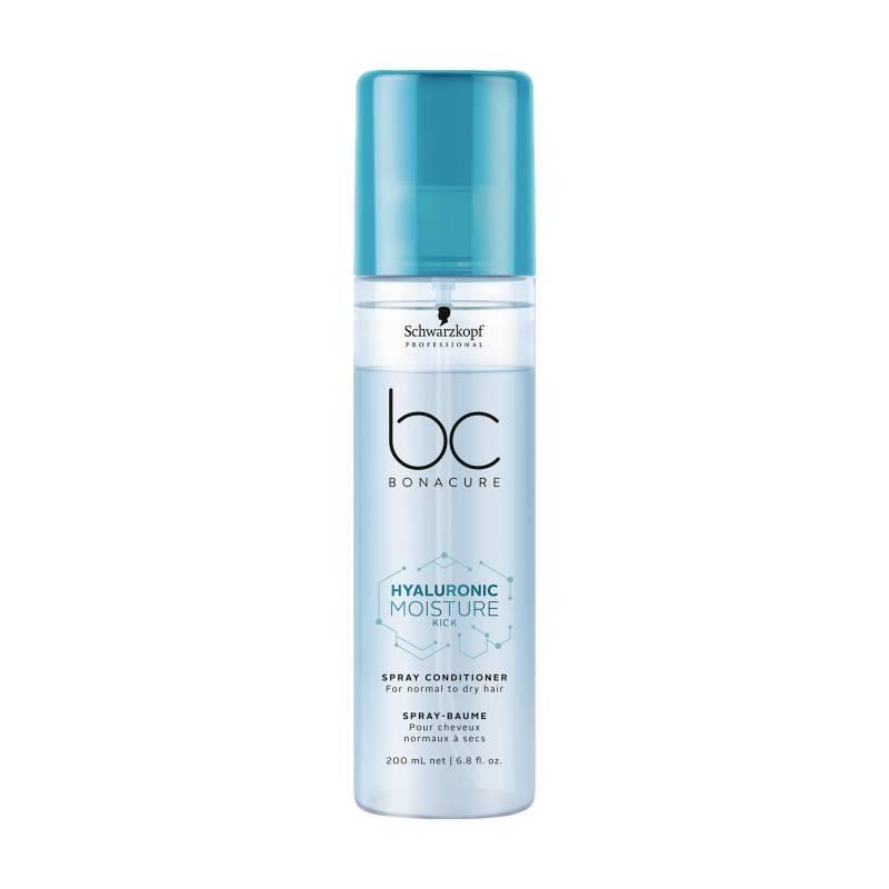 Bonacure By Schwarzkopf - Acondicionador Bonacure By Schwarzkopf en Spray Bonacure hyaluronic moisture kick: cabello seco y quebradizo Hidratación 200 ml