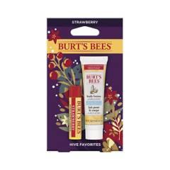 Burts Bees - Loción Corporal Y Bálsamo Labial Hive Favorites