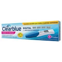 Clearblue - Prueba De Embarazo Digital Clearblue 1 Unidad