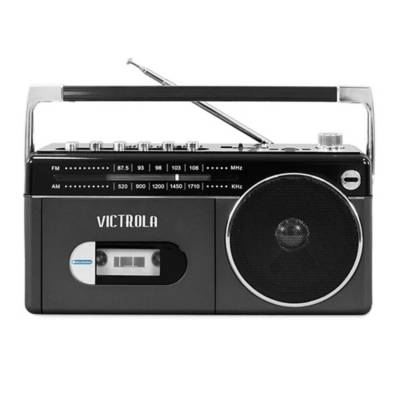 reproductor bluetooth victrola radio vbb-25-gry