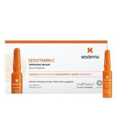 Sesderma - Set de Cuidado Facial Serum Ampollas 12% Sesvitamin Sesderma 10 unidaes x 1.5 ml