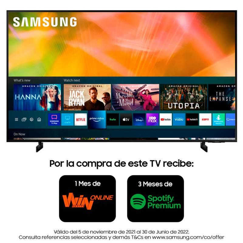 Samsung - Televisor Samsung 75 Pulgadas Crystal UHD 4K Ultra HD Smart TV