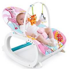IBABY - Silla Mecedora Vibradora Crece Conmigo Bebé