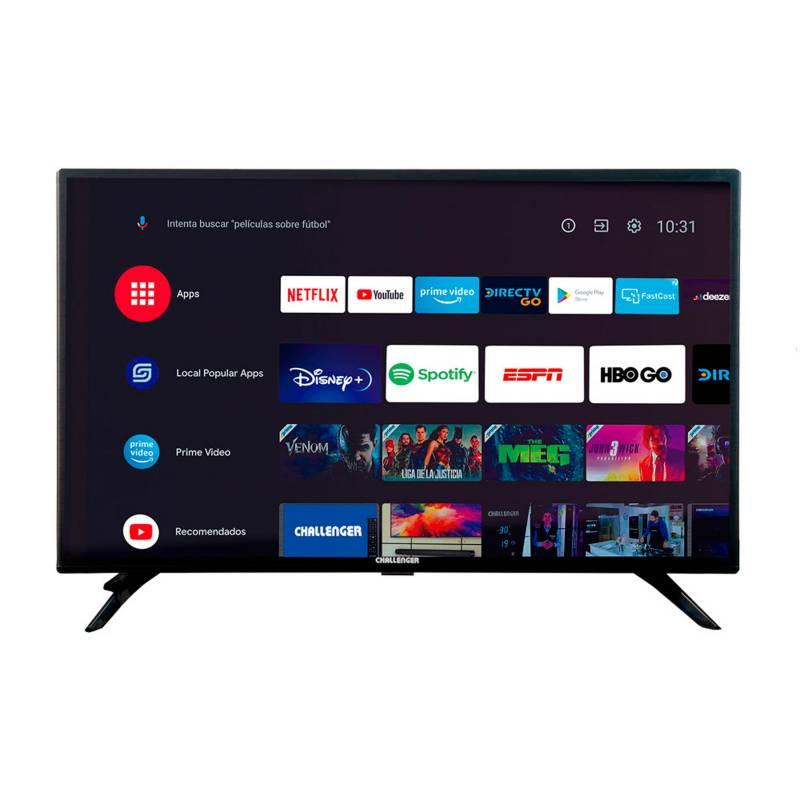 Challenger - Televisor Challenger 43 Pulgadas LED Full HD Smart TV