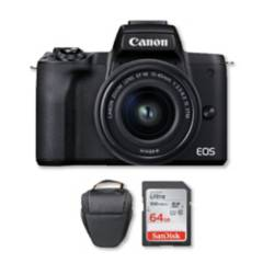 Canon - Canon m50 mark ii mirrorless 4k con lente 15-45mm