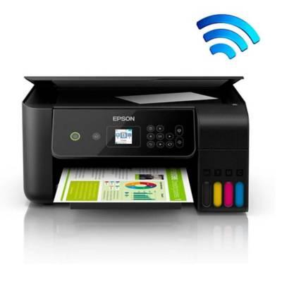impresora multifuncional epson ecotank l3160 wifi
