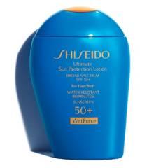 Shiseido - Protector solar  Crema Shiseido Todo tipo de piel 100 ml