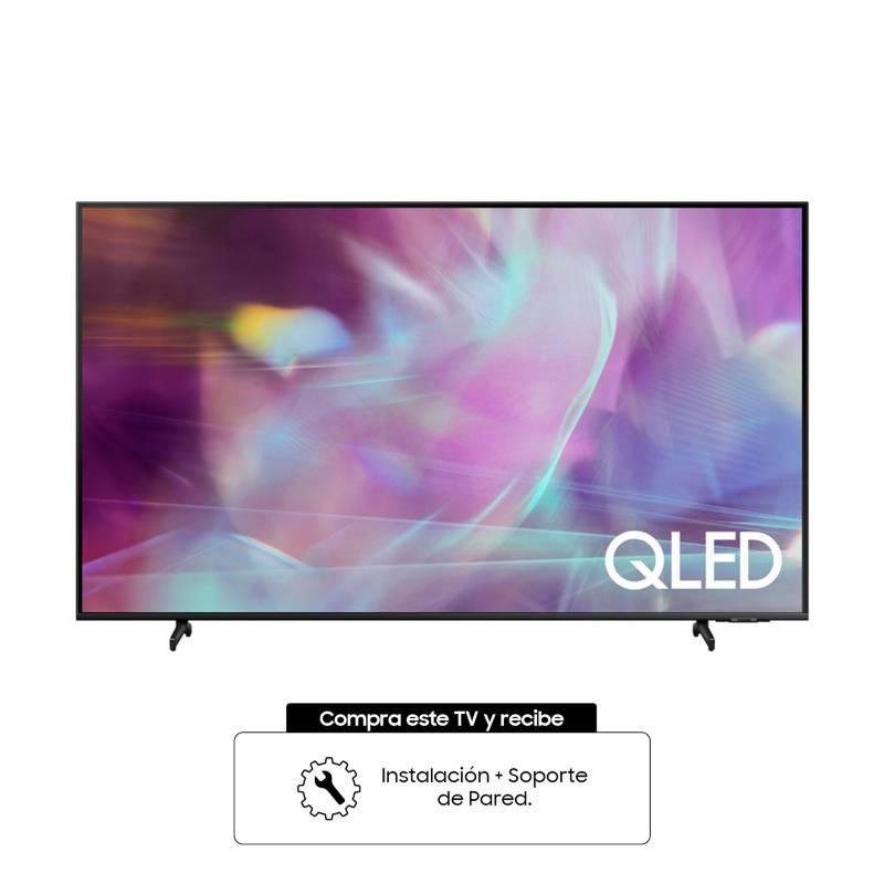 Samsung - Televisor Samsung 50 Pulgadas QLED 4K Ultra HD Smart TV