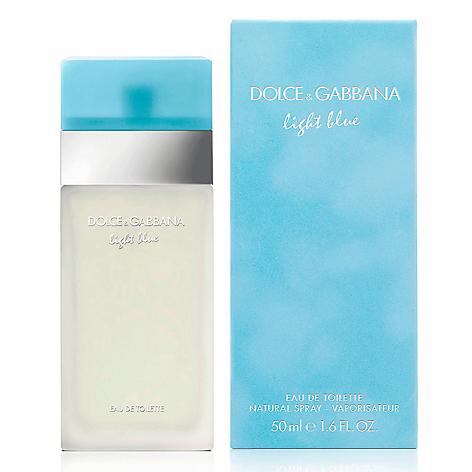 dolce gabbana perfume light blue dama edt 50 ml. Black Bedroom Furniture Sets. Home Design Ideas