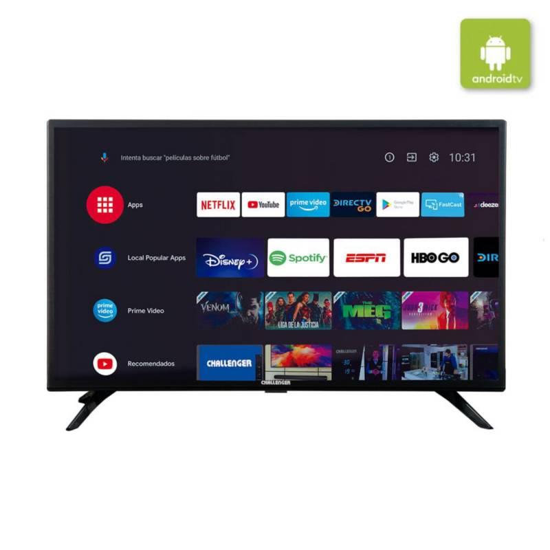 Challenger - Televisor Challenger 32 Pulgadas Smart Tv