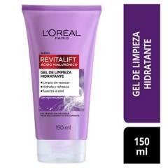 Loreal Dermo Expertise - Limpiador Anti acne Rostro Gel Limpiador Facial Ácido Hialuronico x 150Ml Loreal Dermo Expertise 150 ml