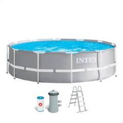 Intex - Piscina estructural 26719EH Intex Circular