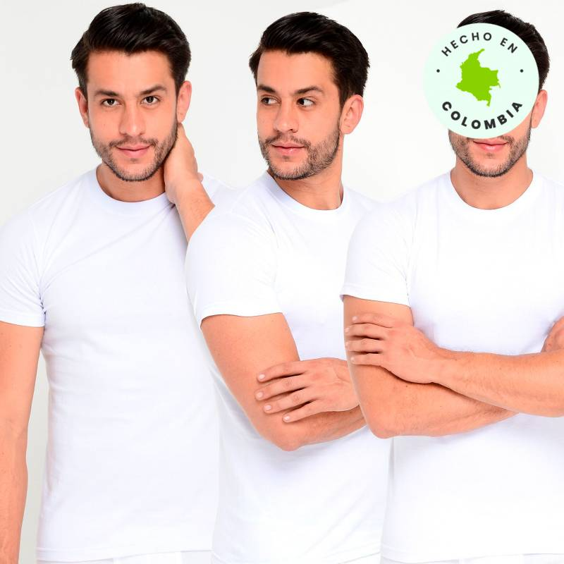 Newboat - Camisetas Pack x 3
