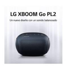 LG - Parlante lg xboom go pl2 bluetooth azul marino