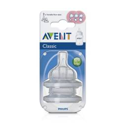 Avent - Chupo Flujo Variable + 3 Meses