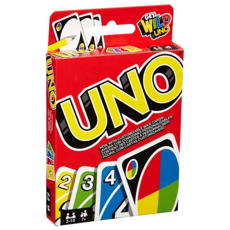 Uno - Juego de carta Mattel Games UNO Original