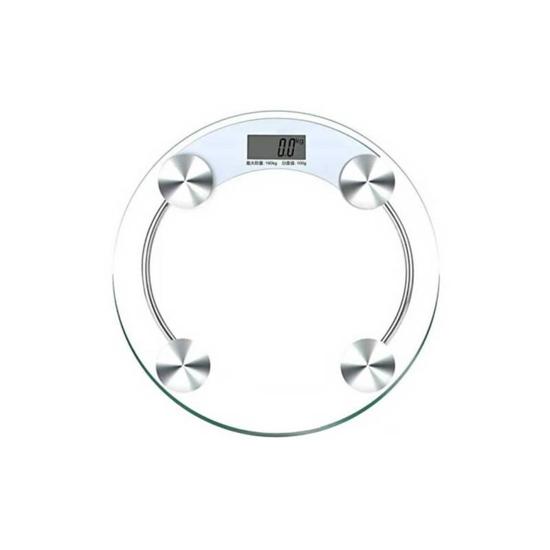 Danki - Balanza Redonda Vidrio Digital Pesa Bascula Peso