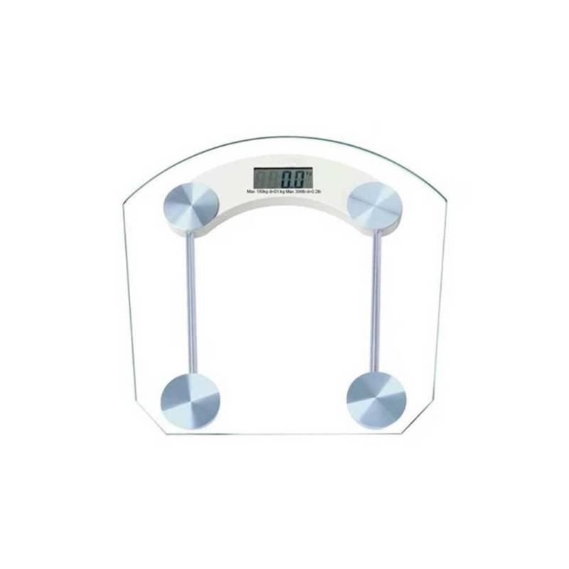 Danki - Balanza Personal Vidrio Pesa Semi Cuadrada Bascula