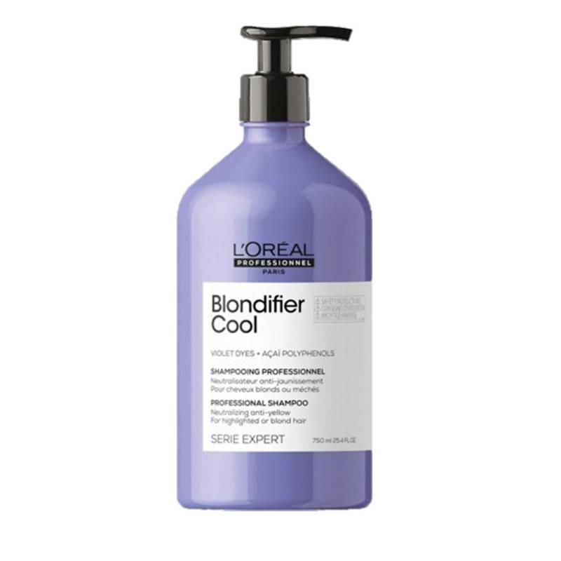 Loreal Serie Expert - Shampoo Loreal Serie Expert Cabello Rubio Blondifier Cool Protección del color 750 ml