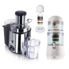 Chef Master - Kit extractor jugo + purificador agua + repuestos