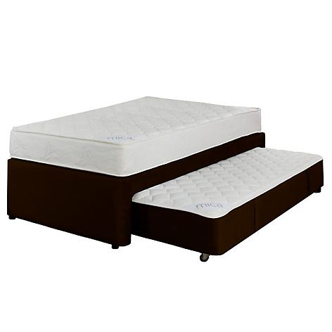 Mica set plenitud cama div n sencillo caf for Falabella divan