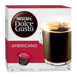 Cápsulas Café Americano Dolce Gusto