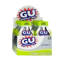 Gu - Caja Gel Energia Limon  x 24