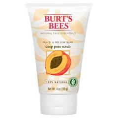 Burts Bees - Exfoliante Facial con Extracto de Durazno y Corteza de Sauce 110 g