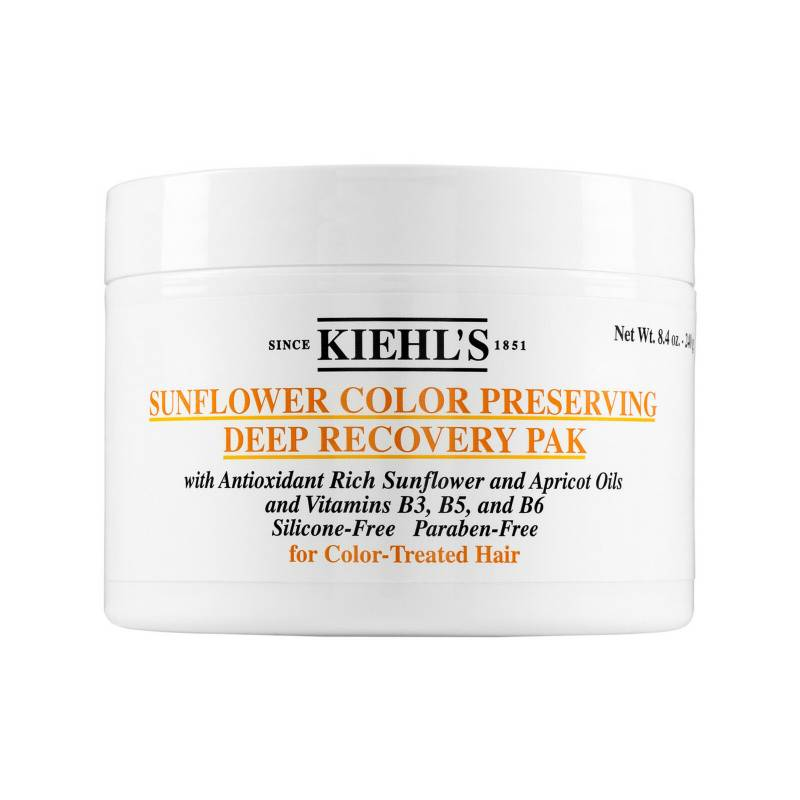Kiehls - Mascarilla Capilar Sunflower Color Preserving Deep Recovery Pak 250 ml