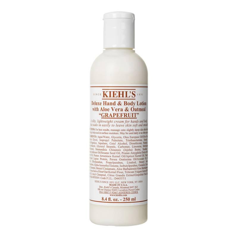 Kiehls - Hidratante Corporal Deluxe Hand & Body Lotion with Aloe Vera & Oatmeal 250 ml