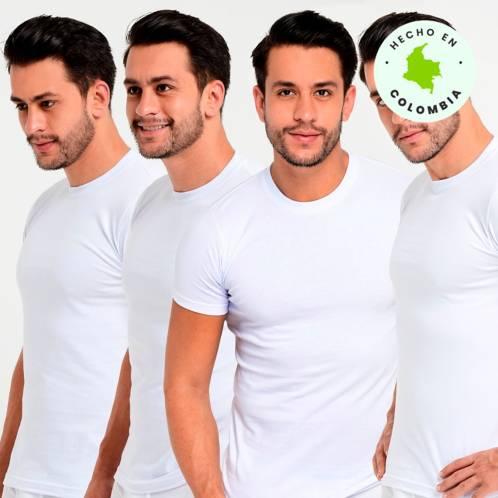 Camisetas Pack x 4