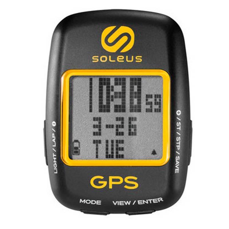 Soleus - Reloj Colgante para Bicicleta con GPS