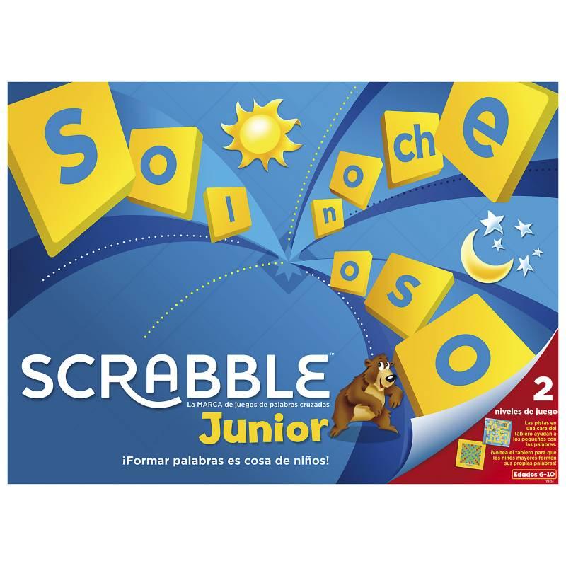 Mattel Games - Scrabble Junior
